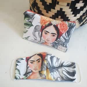 Nadeen Art Set Μάσκα Τσαντάκι Young Frida