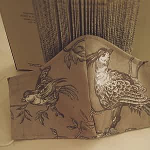 Nadeen Art Υφασμάτινη Μάσκα Προστασίας Τα πουλιά