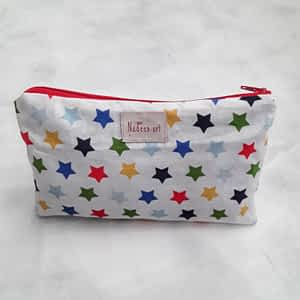 Nadeen Art Pouch Colorful Stars