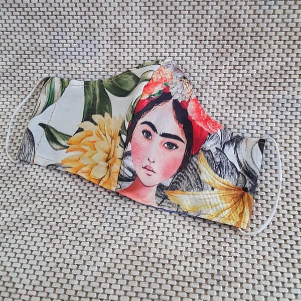 Nadeen Art Mask Young Frida