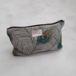 Nadeen Art Pouch Peocock Feather