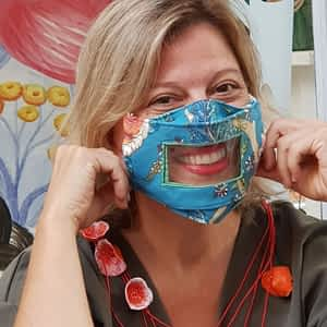 Nadeen Art Smile Mask