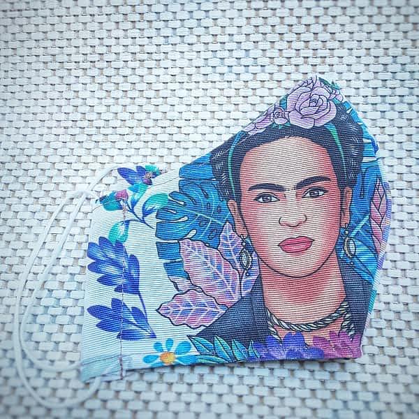 Nadeen art Υφασμάτινη Μάσκα Προστασίας Ενηλίκων Frida