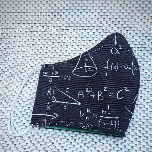 Nadeen art Υφασμάτινη Μάσκα Προστασίας Ενηλίκων Γεωμετρία