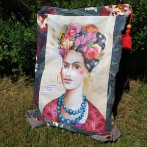 Nadeen Art Backpack Frida